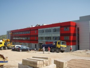 CONSTRUCTION OF BUILDINGS I & IV AT THE PALLINI INDUSTRIAL PARK FOR ALPHA TV