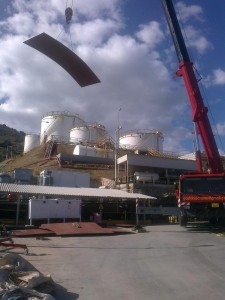 REPLACEMENT OF BOTTOM INSIDE THE ANNULAR PLATE & INSTALLATION OF RELAX PIPE AT ΤΚ2 TANK AT HERAKLION COMPLEX – CRETE ISLAND