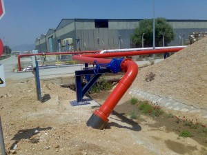 "FABRICATION & ERECTION OF NEW 10"" FIREFIGHTING PIPELINE"