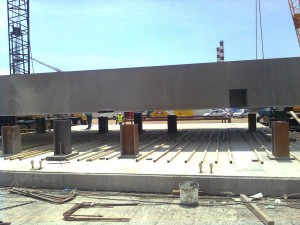 FABRICATION & ERECTION OF GENERATOR'S FORMWORK & STEEL CASE OF LOW PRESSURE STEAM FOR P.P.C. S.A./ALIVERI POWER PLANT