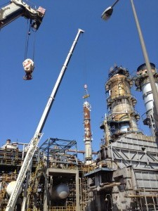 INSTALLATION WORKS OF NEW HHGO AT U-2100 OF ASPROPYRGOS INDUSTRIAL COMPLEX